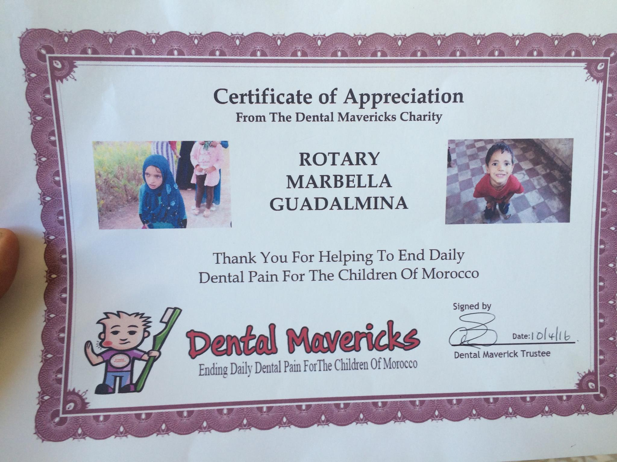 Cally Rotary Dental Mavericks